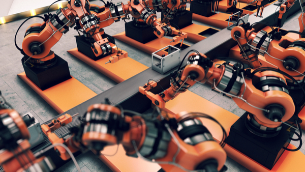 automated manufacture factory